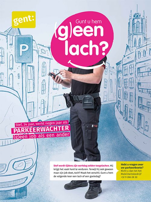 Anti-agressie parkeerwachters Gent