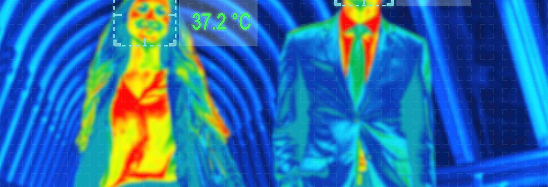 Temperatuur screening door Trigion