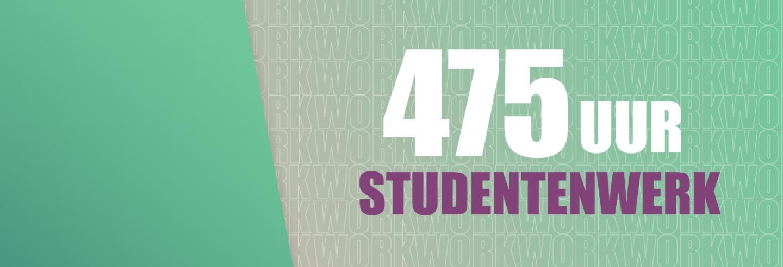 475 uur studentenwerk bij Facilicom