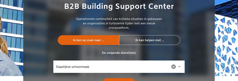 Facilicom is partner van het B2B Building Support Center