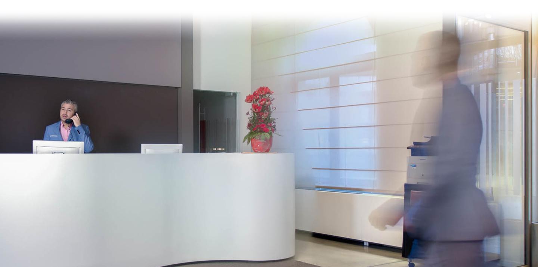Facilicom, Facilicom Solutions, facility management, facilitaire dienstverlening, concepten, bedrijf, receptiediensten, RespondR, Happy Or Not, hospitality, gastvrijheid, ontvangst, onthaal, receptionist, vergaderzalen, meeting rooms, mailroom, operationele ondersteuning, gasten