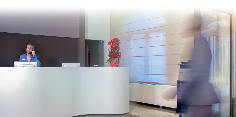 Werken als receptionist bij Facilicom